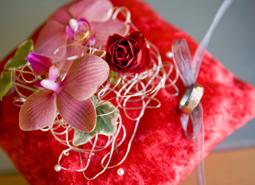 floristeria)bodas)portaanillos