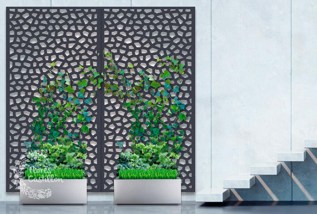 Paneles decorativos flores castillon - Paneles para separar espacios ...