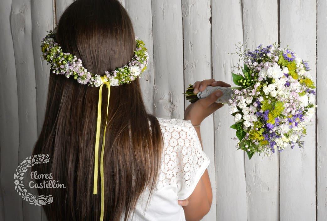ramo de novia boho