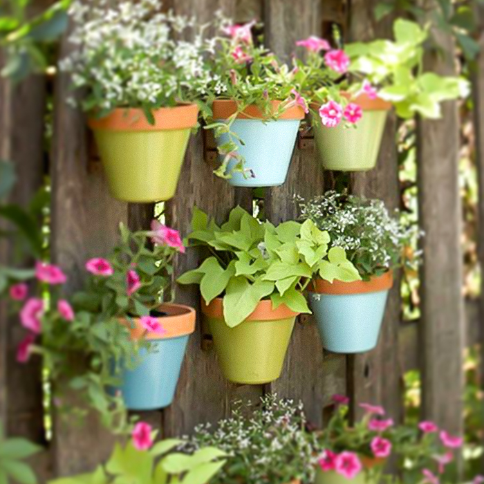 Ideas para decorar jardines pequeos Flores Castillon
