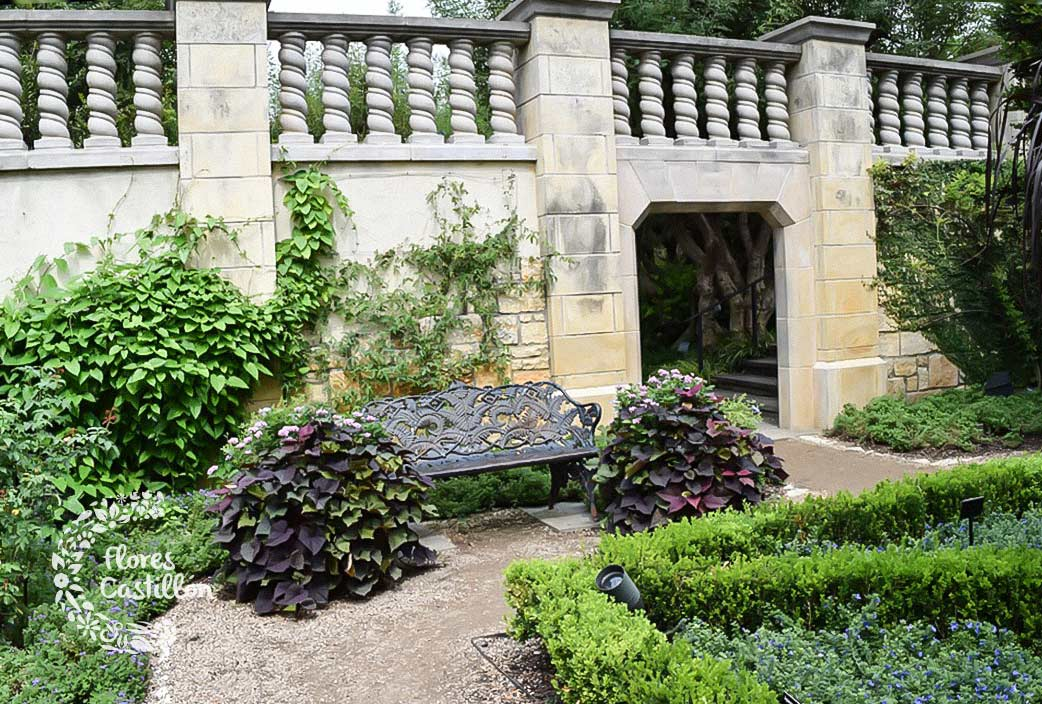 la magia de los jardines romanos flores castillon