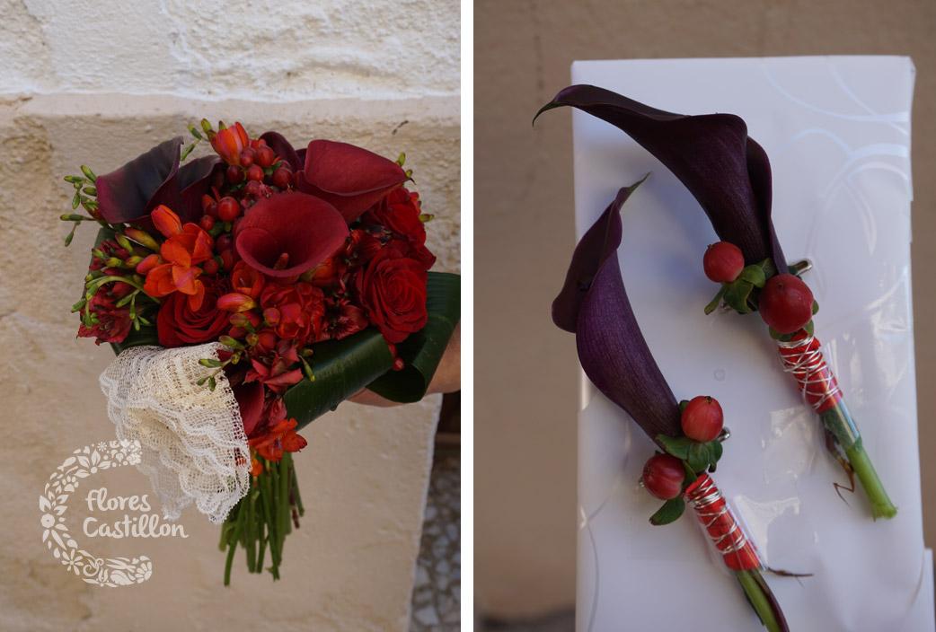 ramo-de-novia-y-solapas-novio-de-rosas-y-calas-rojas