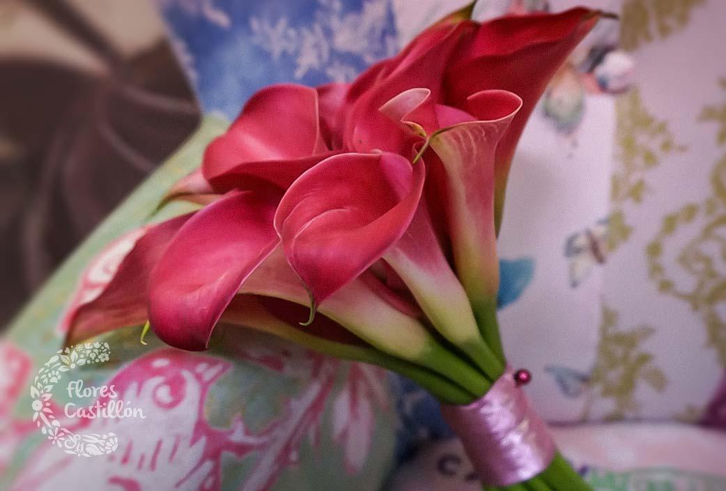 Los ramos de novia m s originales de 2016 flores castillon - Ramos de calas para novias ...