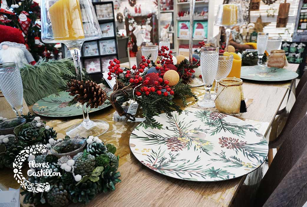 como decorar la mesa para las cenas de navidad