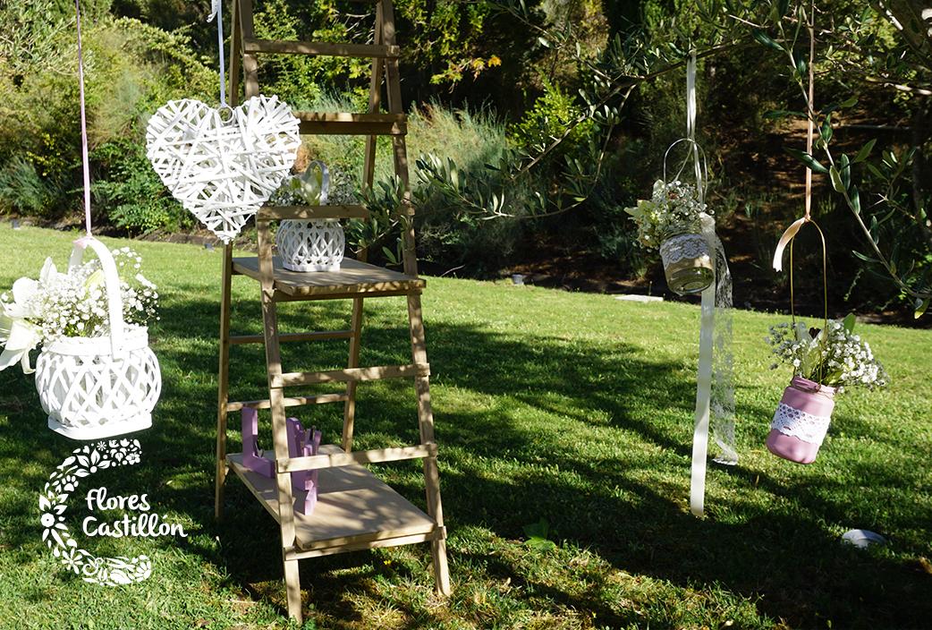 escalera-altar-boda-bajo-un-olivo