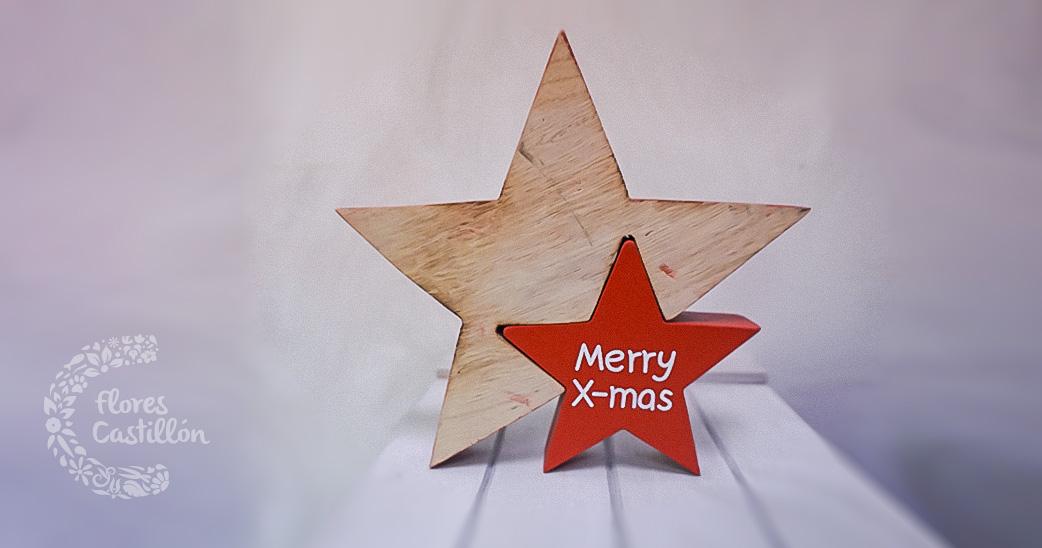 estrella-navidad-madera-merry-x-mas