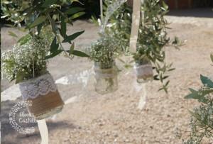 adornos para bodas de campo