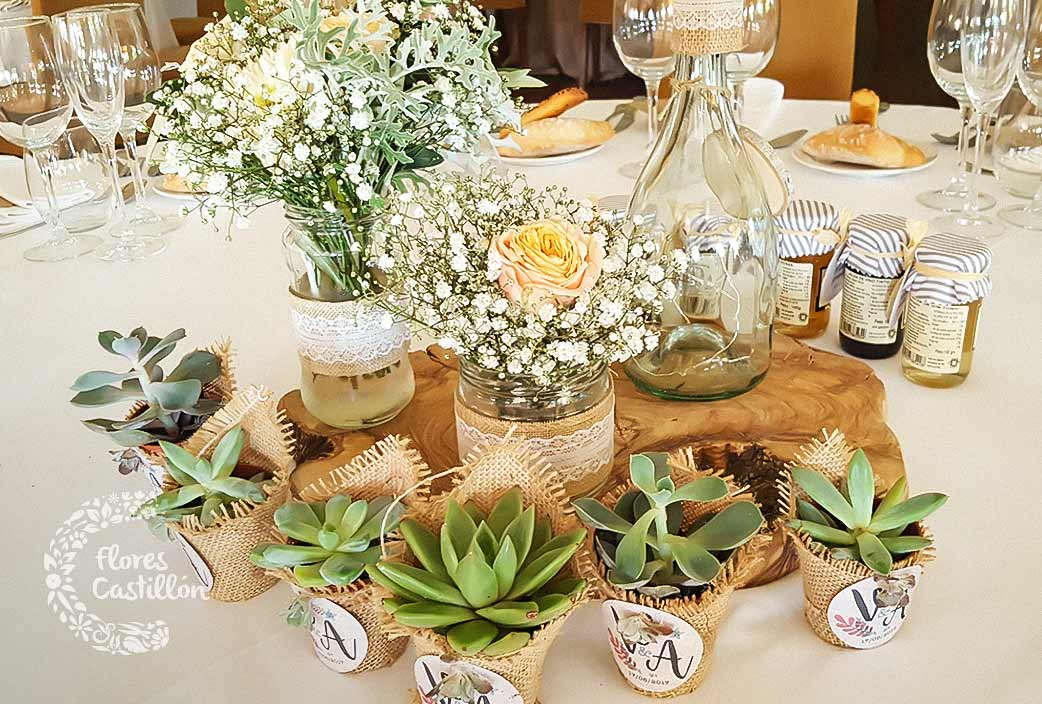Centros de mesa para tu banquete de bodas c mo hacer que todo sea perfecto flores castillon - Centros mesa boda ...