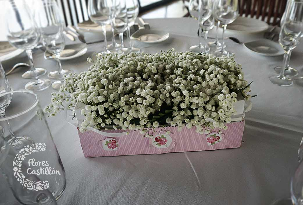 Centros de mesa para tu banquete de bodas c mo hacer que - Como hacer centros de mesa de boda ...
