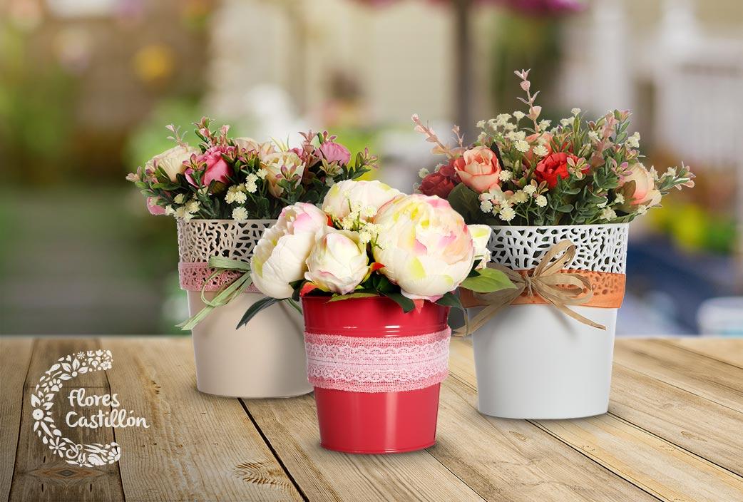 Ya est aqu la tienda online de decoraci n de flores online flores castillon - Decoracion con plantas artificiales ...