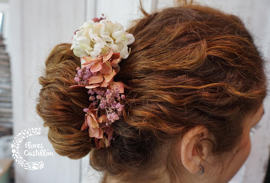Flores Para El Pelo Para Invitadas De Boda Y Novias Flores Castillon - Flores-en-el-pelo-para-bodas