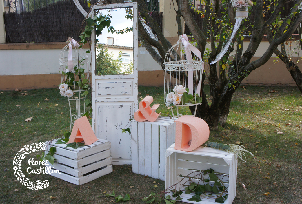 Bodas con encanto y sencillas llena de pasi n cada momento - Decoracion boda en casa ...