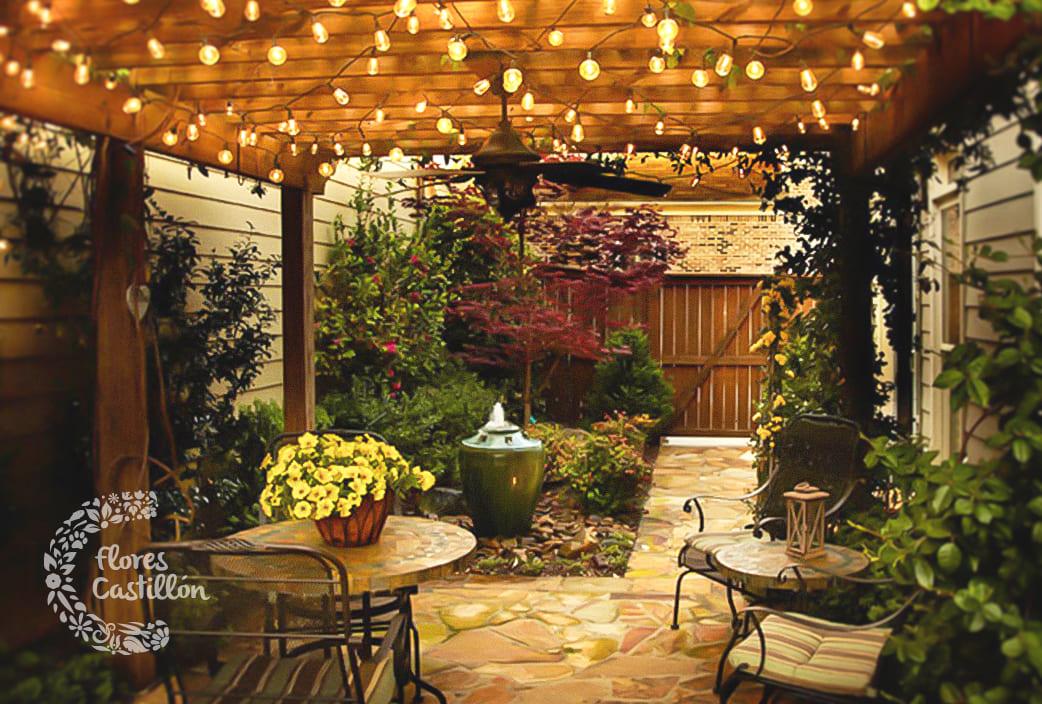Qu tipos de jardines hay flores castillon Decoracion de jardines pequenos rusticos