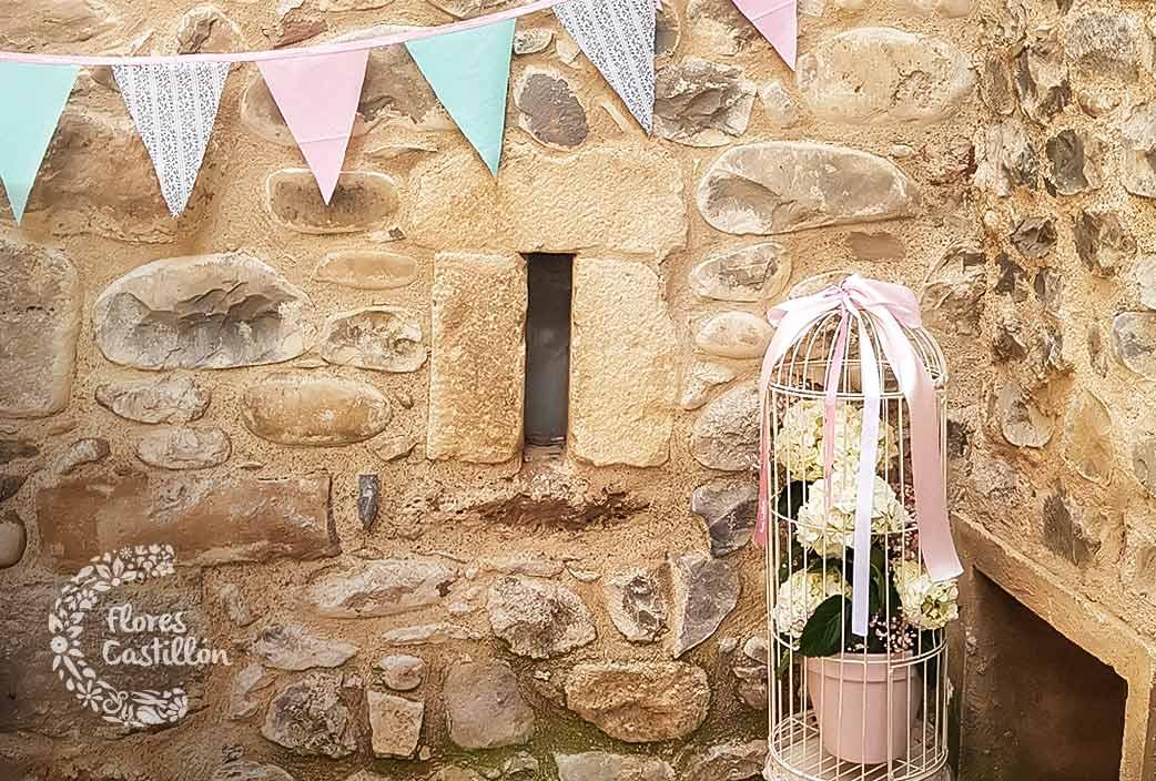 decorar rusticas bodas en pueblos
