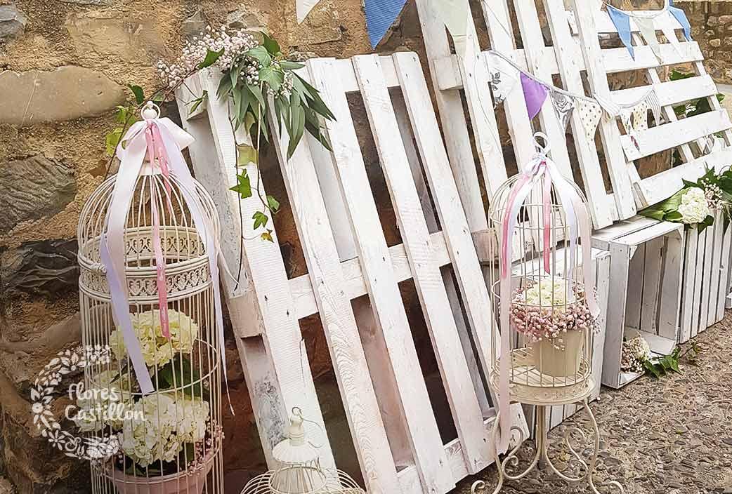 detalles decorativos boda rustica