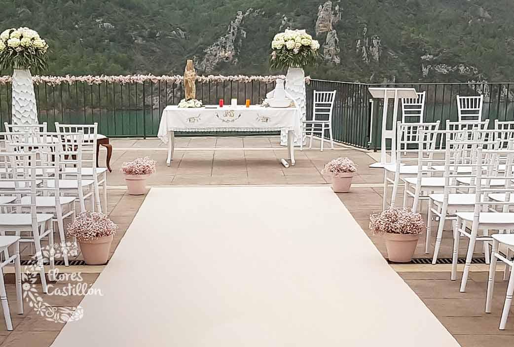 enclave ceremonia de boda en liguerre de cinca