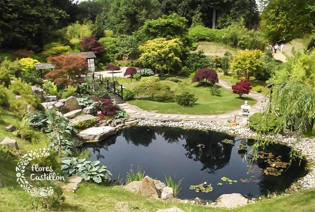Qu tipos de jardines hay Flores Castillon