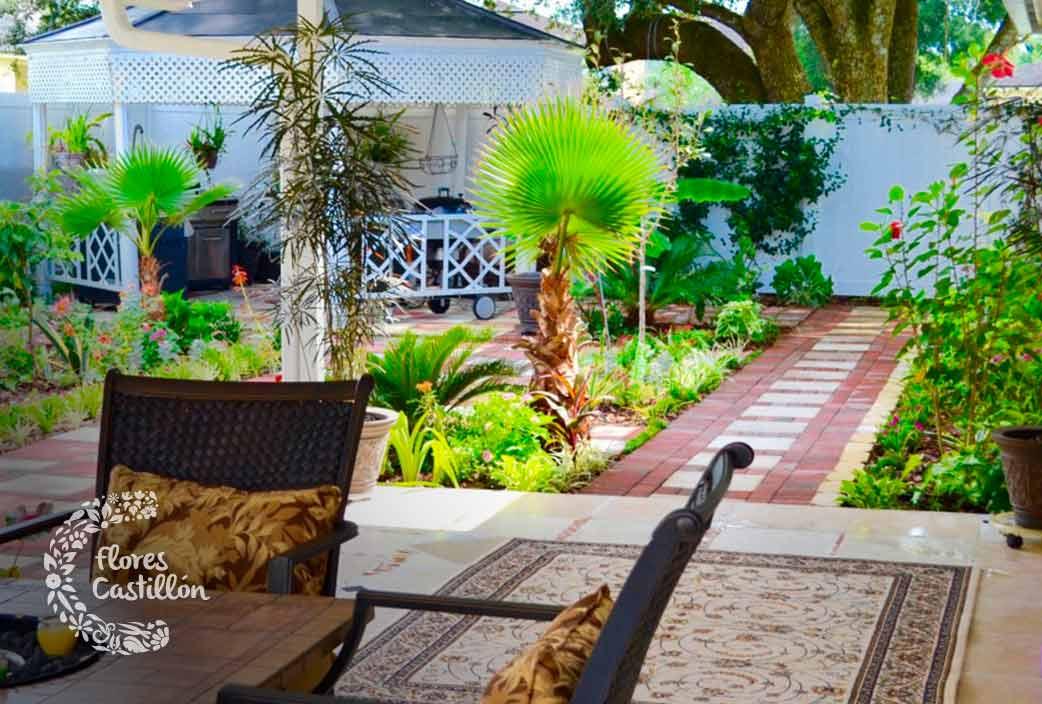 hacer un jardin mediterraneo