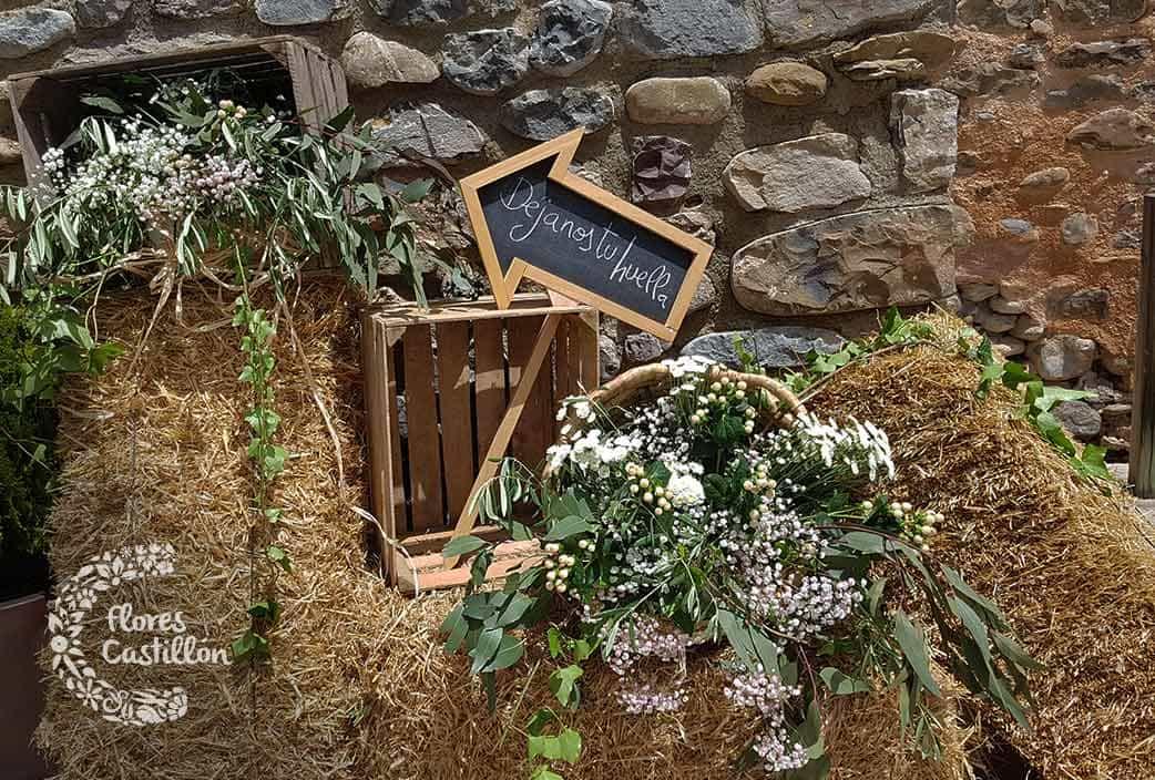 decoracion rustica boda en el campo