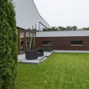 jardin moderno y elegante