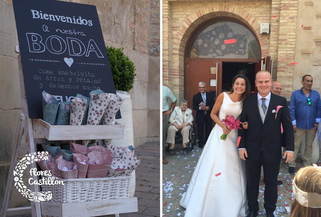 detalle decorativo boda civil