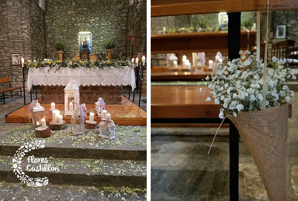 como decorar una boda para una ermita