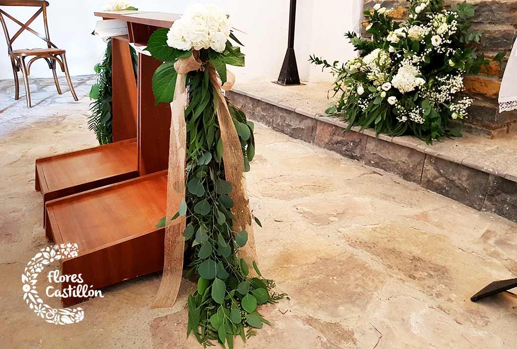 altar boda ermita