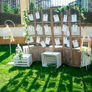 ideas origininales para la disposicion de mesas en una boda