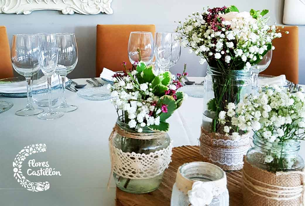 consejos para decorar las mesas de la boda