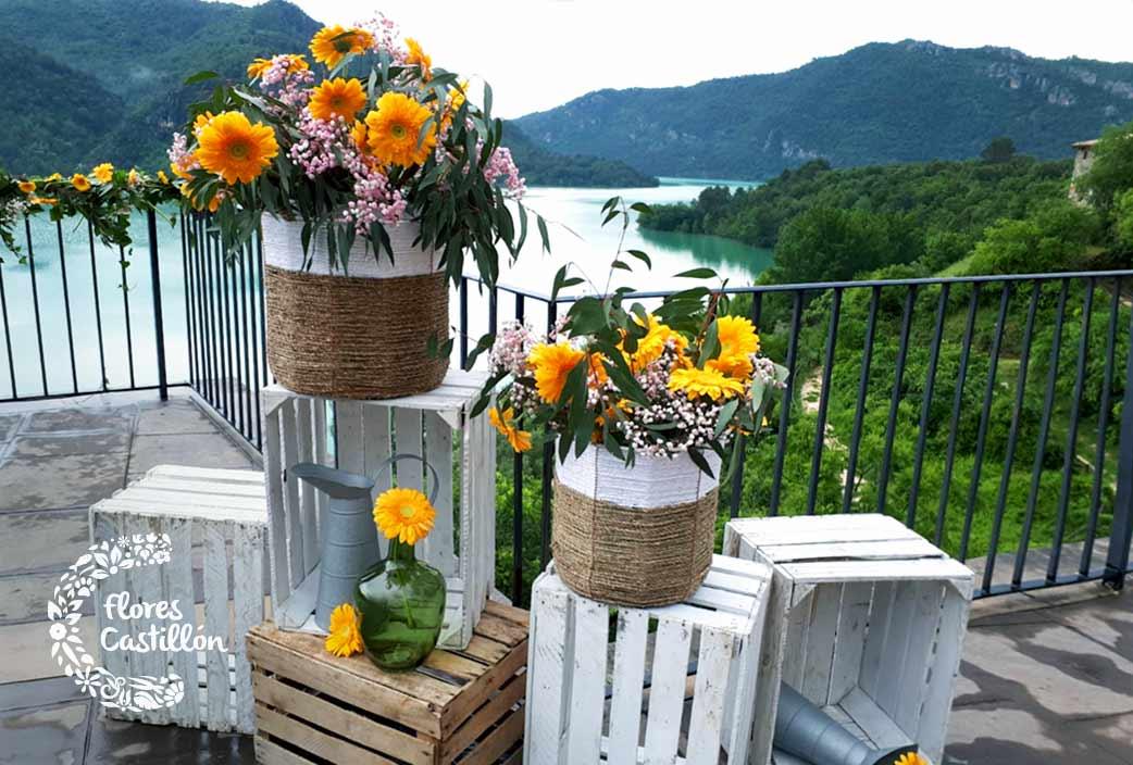 como decorar una boda con flores