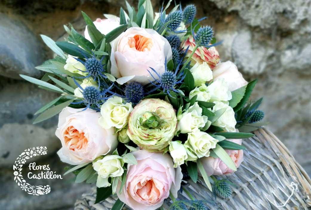ramo de novia de flores naturales