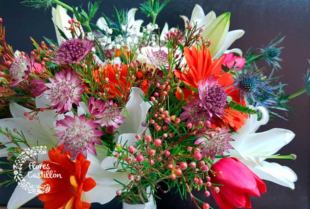 crear un ramo de flores online