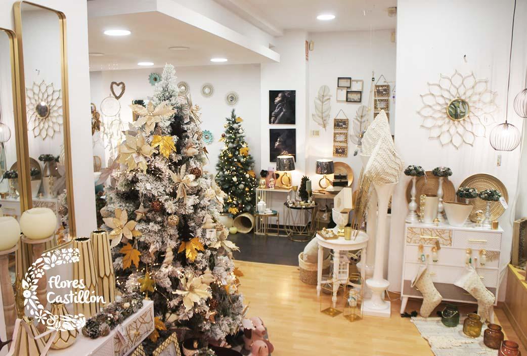 decoración navideña rustica