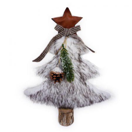 Árbol de piel marrón Navidad