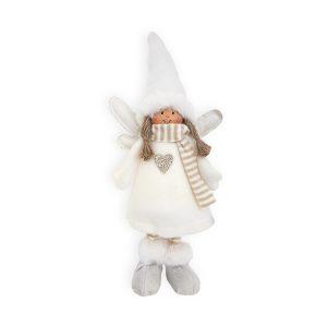 Muñeca ángel Navidad de pié