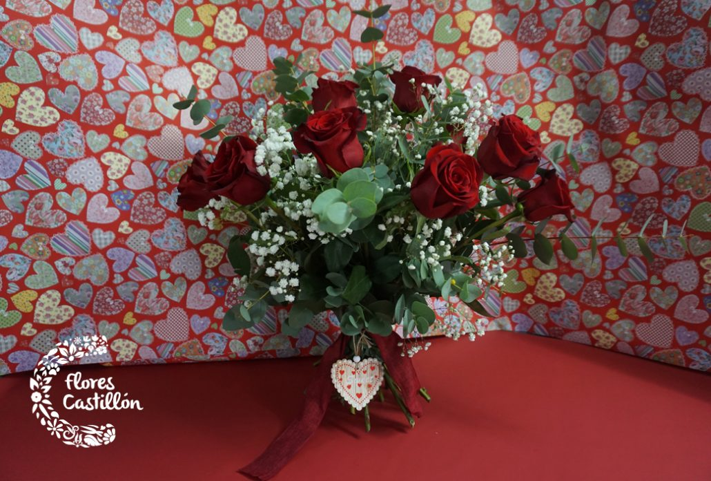 regala rosas frescas en san valentin