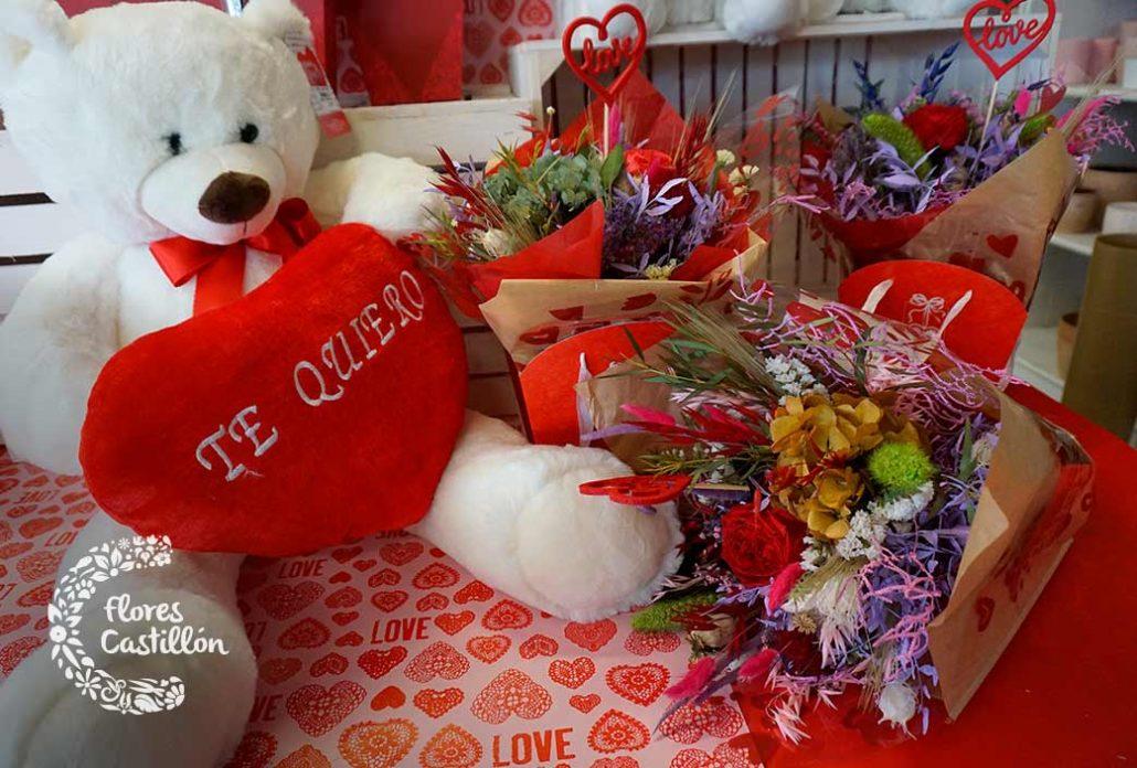regala flores preservadas en san valentin